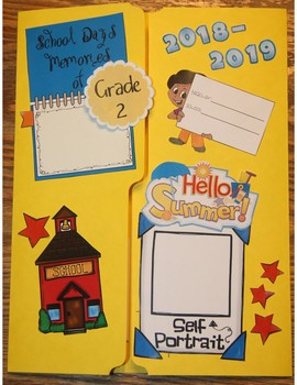 End of Year (Graduation) Lapbook - Memory Book - Interactive Notebook