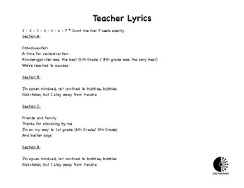 """Kindergarten / 5th Grade Graduation Song to Katy Perry's """"Chained to the Rhythm"""""""