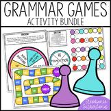 End of Year Grammar Review: Board Games GROWING Bundle