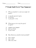 End of Year Health Assessment
