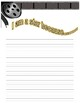 End of Year Hollywood Theme Writing Template
