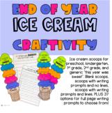 End of Year Ice Cream CRAFTIVITY!