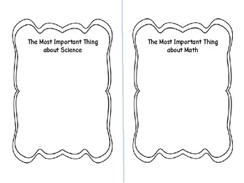 End of Year Important Book Gr. 4