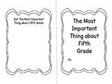 End of Year Important Book Gr. 5