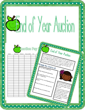 End of Year Incentive (Auction)