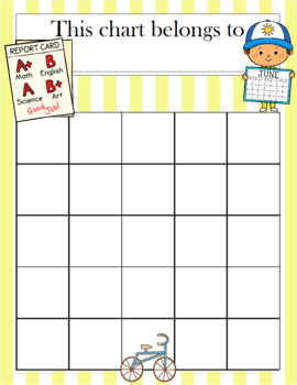 End of Year Incentive Chart