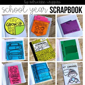 End of Year Interactive Notebook Scrapbook