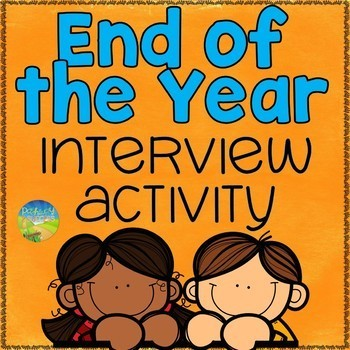 Free End of Year Interview Activity