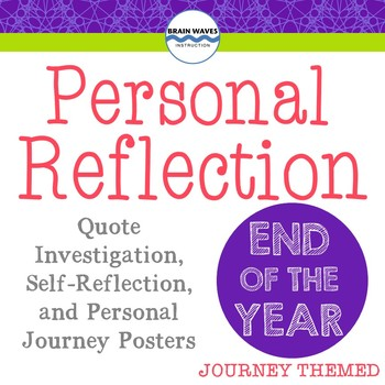 End-of-Year Journey Reflection, Free End of Year Activity