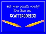 End of Year Scattergories ~ Any grade ~ Editable PowerPoint