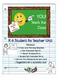 End of Year-Kids Teach the Class