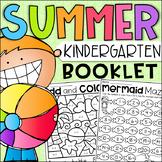 End of Year Kindergarten Booklet - Summer Themed Worksheets