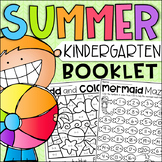 End of Year Kindergarten Booklet - Summer Themed Worksheets