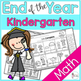 End of Year Kindergarten Math Review
