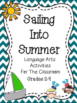End of Year - Language Arts Activities