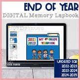 End of Year Lapbook/Memory Book Digital Version
