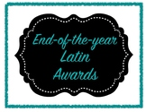 End-of-Year Latin Superlative Awards