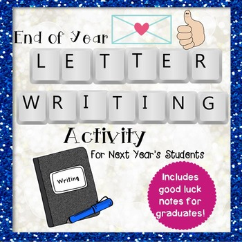End of Year Letter Writing Activity