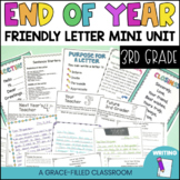 End of Year Letter Writing Lessons and More (3rd Grade)