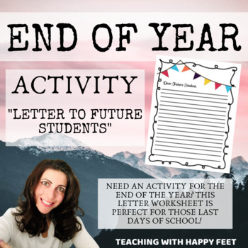 End of Year: Letter to Future Students