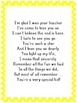 End of Year Letter to Kids