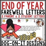 End of Year Letter from Teacher to Students and Parents Superhero Print Digital