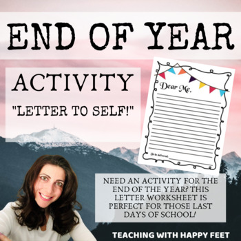 End of Year: Letter to your Future Self Activity