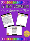 Letters to Students *Editable*
