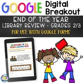 End of Year Library Review - Digital Breakout for Google F