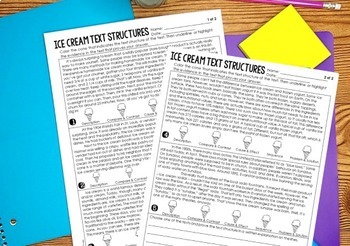 End of Year Literacy Activities for 5th Grade {Common Core Aligned}