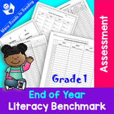 EOY Literacy Benchmark Assessment: Grade 1