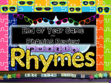 Literacy Center Favorite- Rhyming Puzzle Match Game