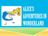 End of Year Literacy Testing Prep with Alice in Wonderland