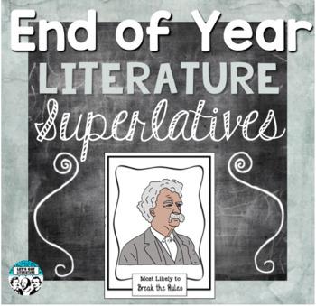 End of Year Literature Activity Superlatives
