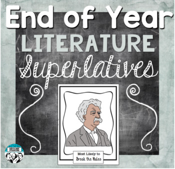 End of Year Literature Activity Superlatives
