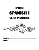 End of Year MASTER VERB Conjugations-- Warmups, Review, Practice