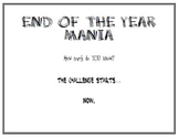 End of Year Mania