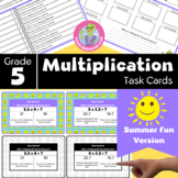 End of Year Activities for 5th Grade - Math Task Cards - M