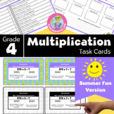 End of Year Activities for 4th Grade - Math Task Cards - M
