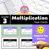 End of Year Activities for 3rd Grade - Math Task Cards - M
