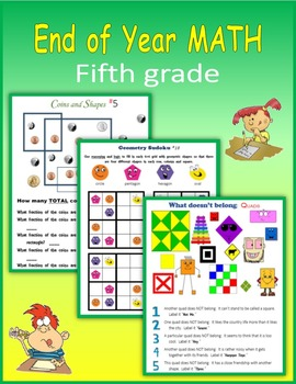 End of Year Math (Fifth grade)