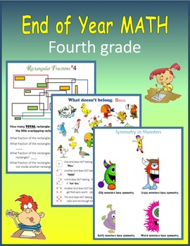 End of Year Math (Fourth grade)
