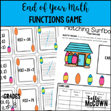 End of Year Math Functions Game