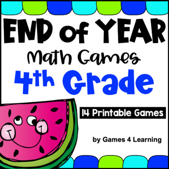 End of Year Math Games Fourth Grade