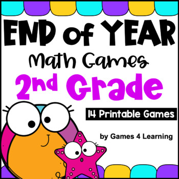 image about Printable Math Games 2nd Grade referred to as Close of the 12 months Math Game titles Moment Quality: Summertime Packet Actions