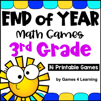 End of Year Math Games Third Grade: End of the Year Activi
