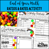 End of Year Math Ratios and Rates Activity
