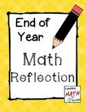 End of Year - Math Reflection