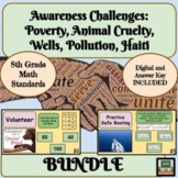 End of Year Math Review 8th Grade Math Bundle