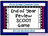 1st Grade Math Review SCOOT